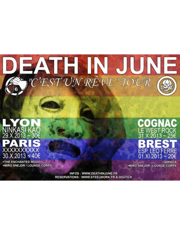 C'Est Un Reve Tour 2013 Poster