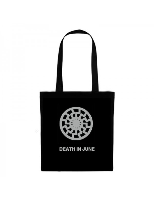 Black Sun Tote Fashion Bag