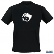 Whiphand6 - Black T-Shirt - M