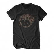 Whiphand6 Camo - Black T-Shirt - L