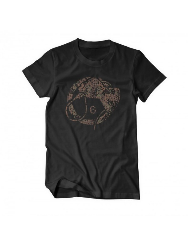Whiphand6 Camo - Black T-Shirt - L - Girly