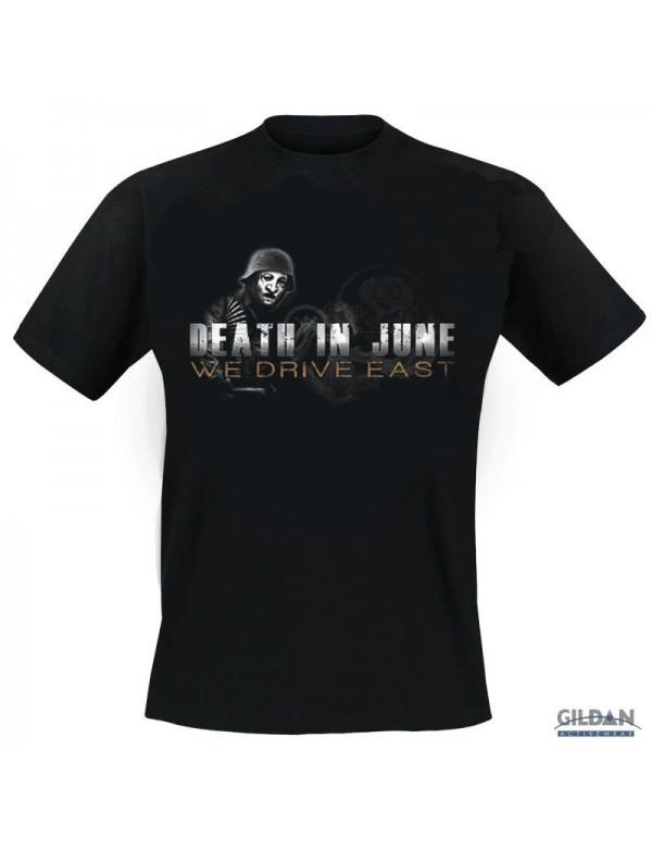 We Drive East - Black T-Shirt - M
