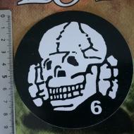 Sticker - Totenkopf6 - Black
