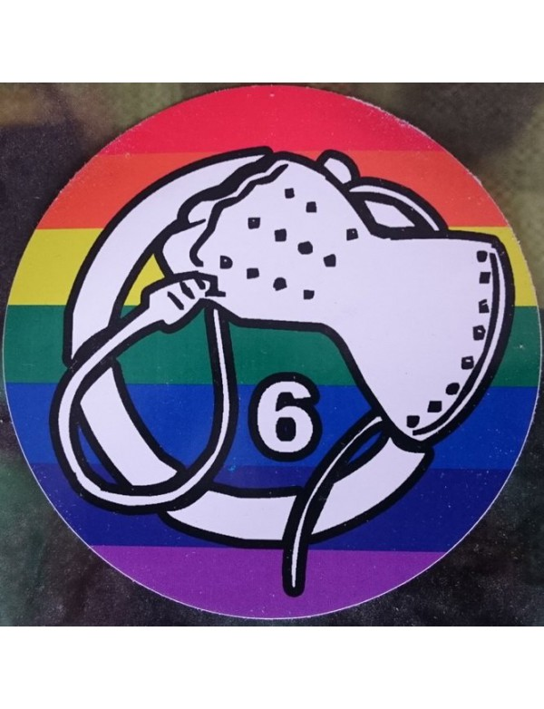 Sticker - Whiphand6 - Rainbow