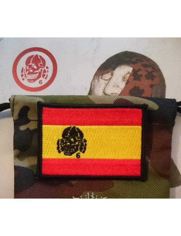 Patch - SPAIN Flag with Totenkopf6