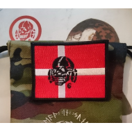 Patch - DENMARK Flag with Totenkopf6