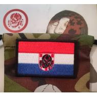 Patch - CROATIA Flag with Totenkopf6