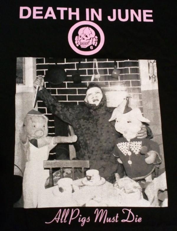 All Pigs Must Die - Black T-Shirt - L