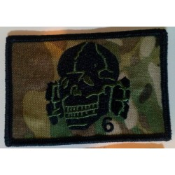 Patch - Camouflage Rectangle - Totenkopf6/Whiphand6/Liferune6/III6
