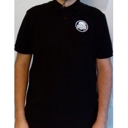 Polo - Black with White Totenkopf6