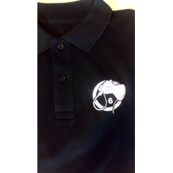 Polo - Black with White Whiphand6